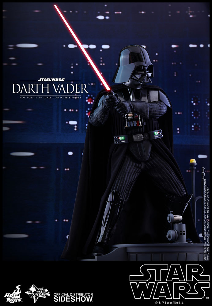 star wars darth vader sixth scale figurehot toys