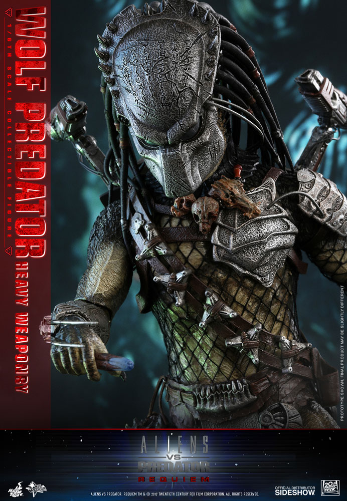 Aliens VS Predator: Requiem Wolf Predator Heavy Weaponry