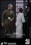 Hot Toys Grand Moff Tarkin and Darth Vader Sixth Scale Figure