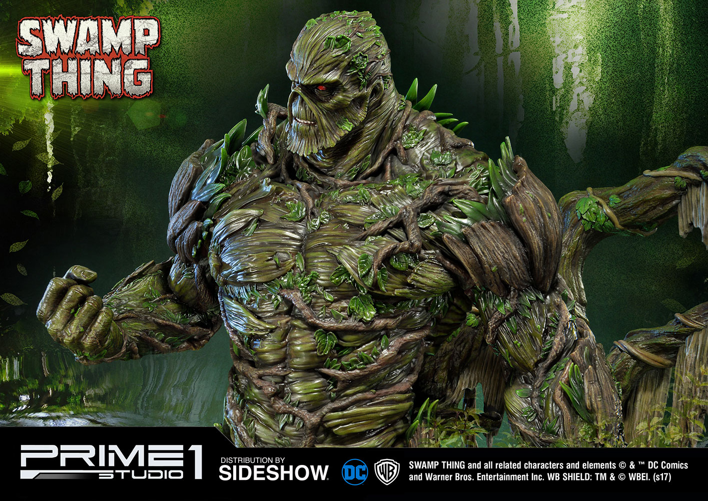 DC Comics Swamp Thing Statue by Prime 1 Studio | Sideshow ...