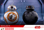 Hot Toys BB-8 and BB-9E Sixth Scale Figure