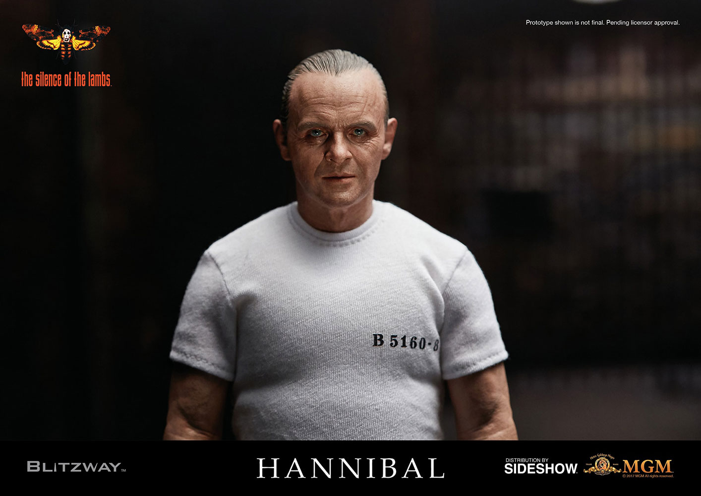 Future Man Serie >> The Silence of the Lambs Hannibal Lecter White Prison Unifor | Sideshow Collectibles