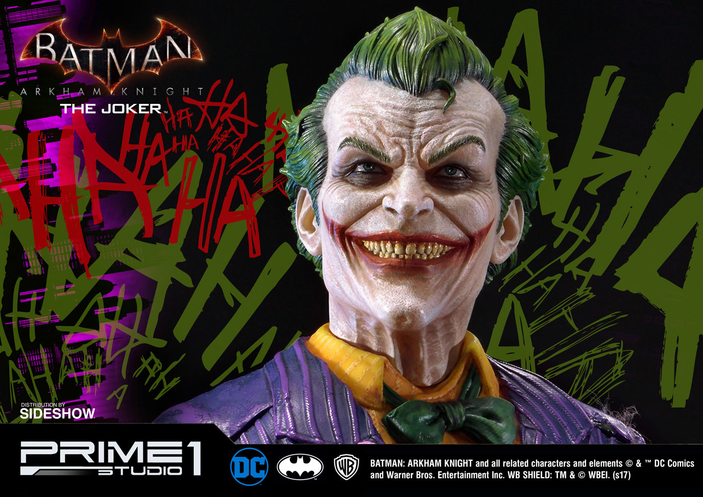 dc comics the joker statue by prime 1 studio sideshow collectibles