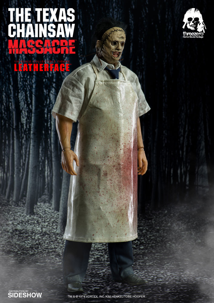 texas chainsaw massacre leatherface sixth scale figure by th