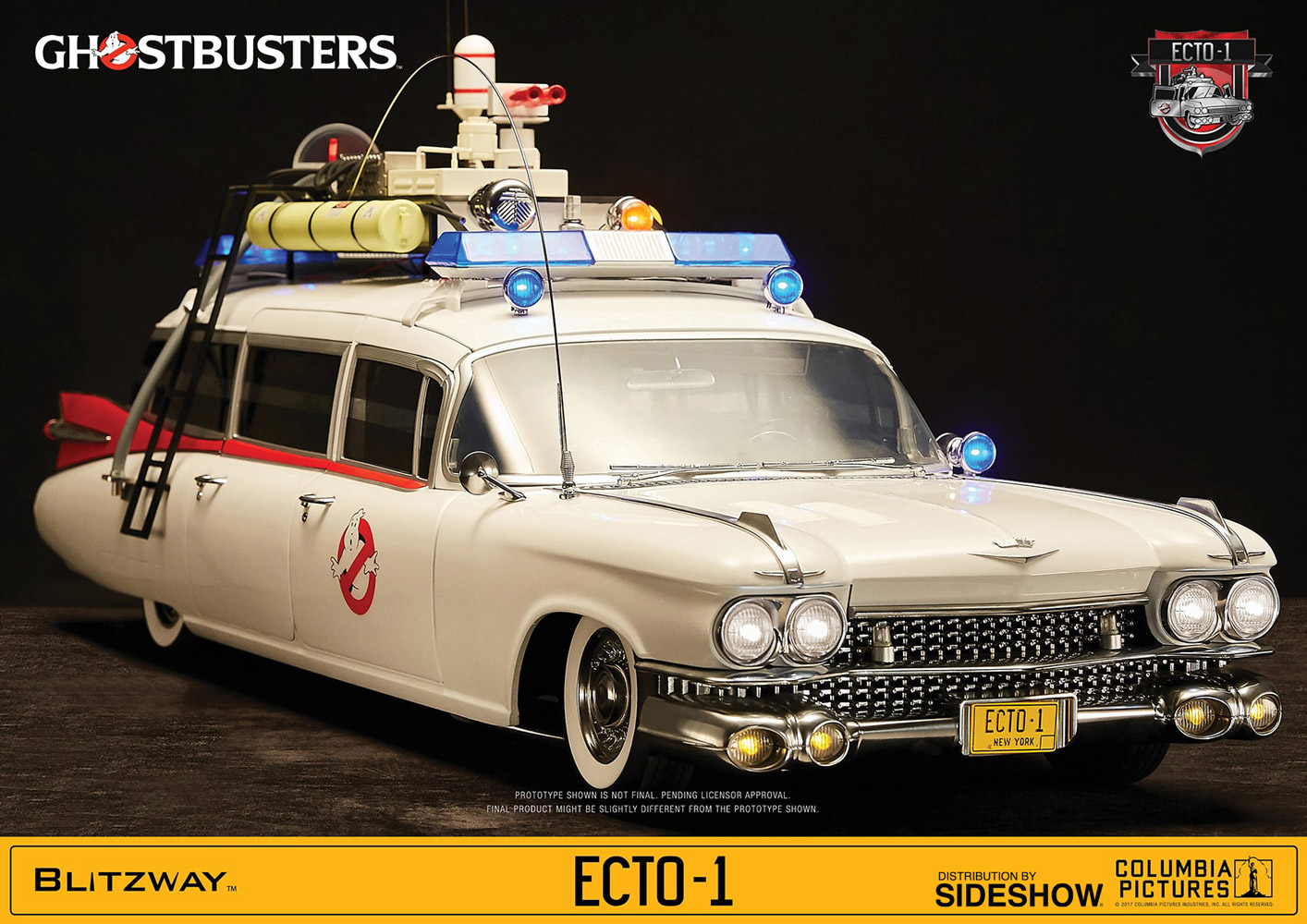 ghostbusters ecto 1 ghostbusters 1984 sixth scale figure rel
