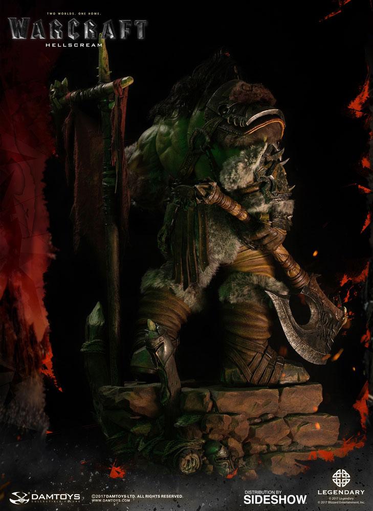 Warcraft Grom Hellscream Statue by Damtoys   Sideshow ...