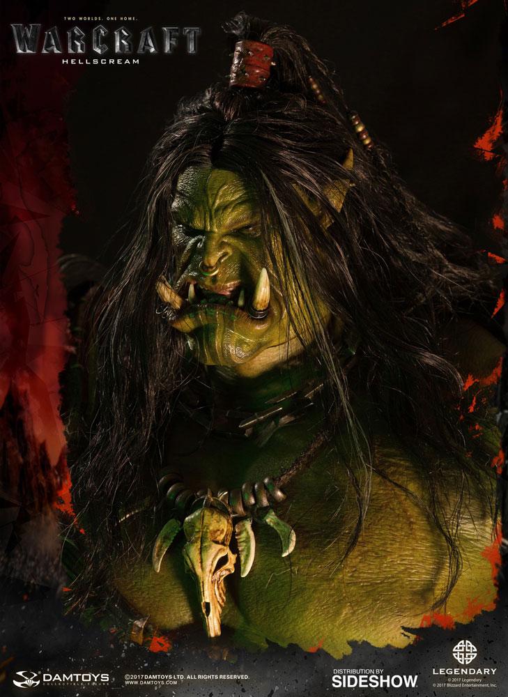 Warcraft Grom Hellscream Statue by Damtoys | Sideshow ...