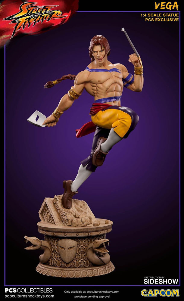 Street Fighter Vega Statue by Pop Culture Shock | Sideshow ...