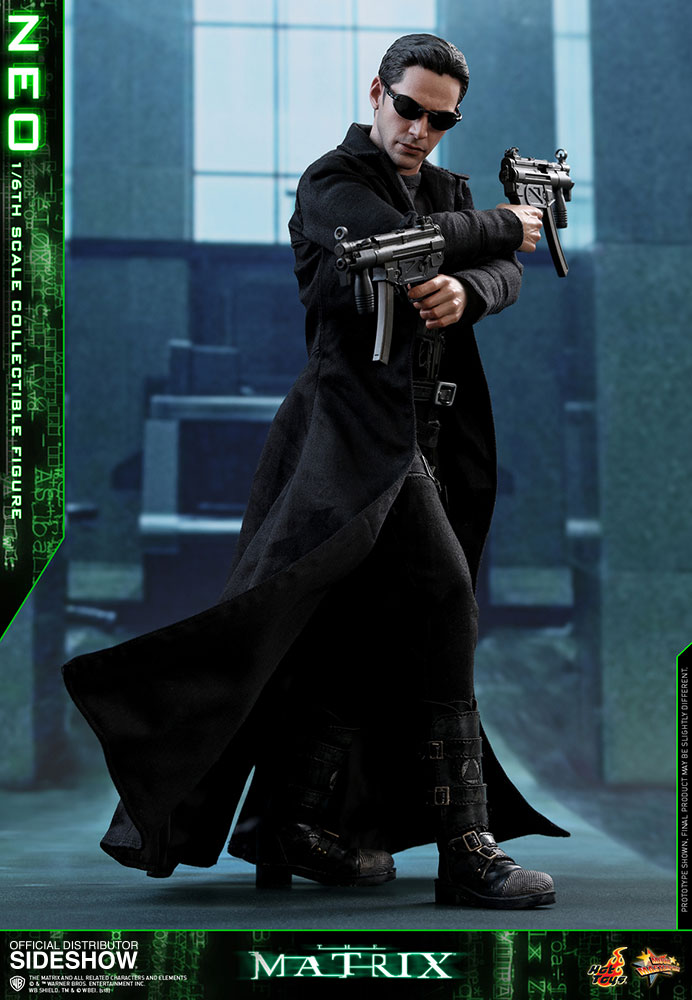 The matrix neo sixth scale figure by hot toys sideshow for Matrix mobili