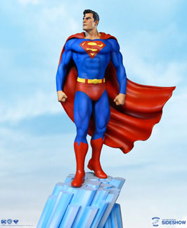 Super Powers Superman Maquette