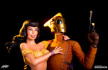 Rocketeer and Betty Statue