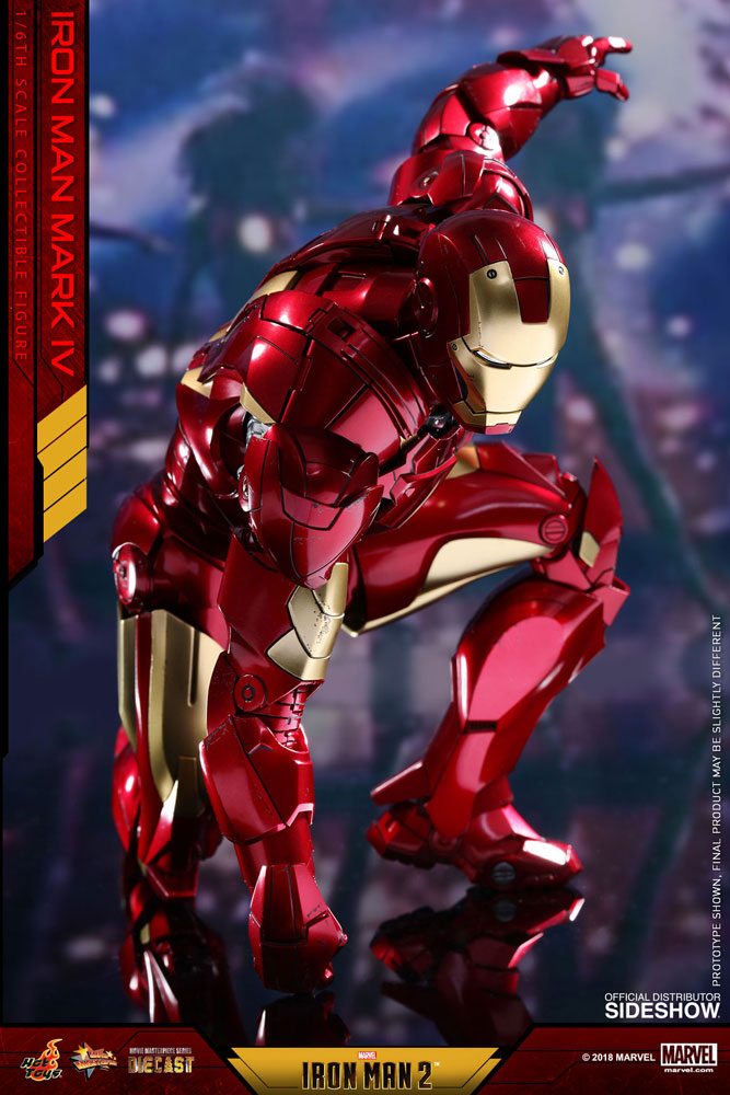 Marvel iron man mark iv sixth scale figure by hot toys sideshow collectibles - Iron man 1 images ...