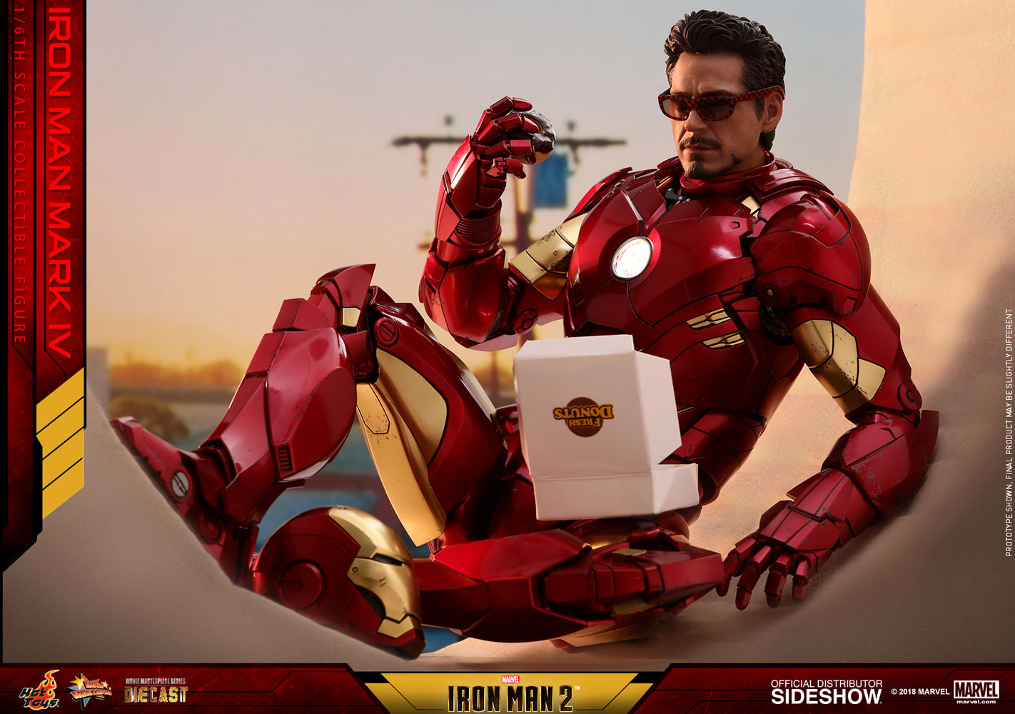 Marvel Iron Man Mark Iv Sixth Scale Figure By Hot Toys