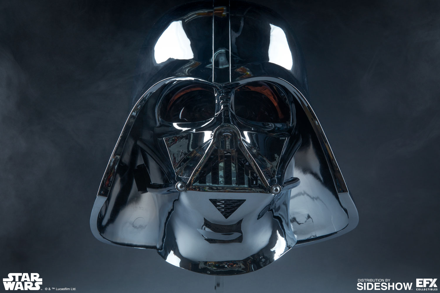 star wars darth vader helmet scaled replica by efx. Black Bedroom Furniture Sets. Home Design Ideas