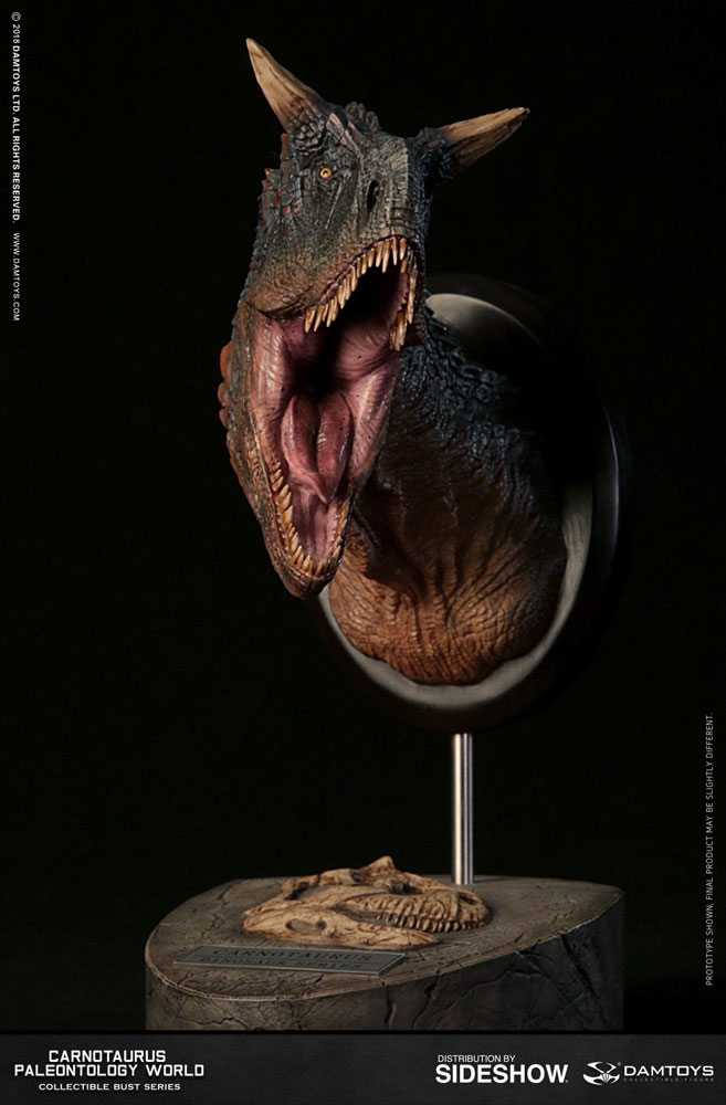 How To Figure Car Payment >> Carnotaurus Bust by Damtoys | Sideshow Collectibles