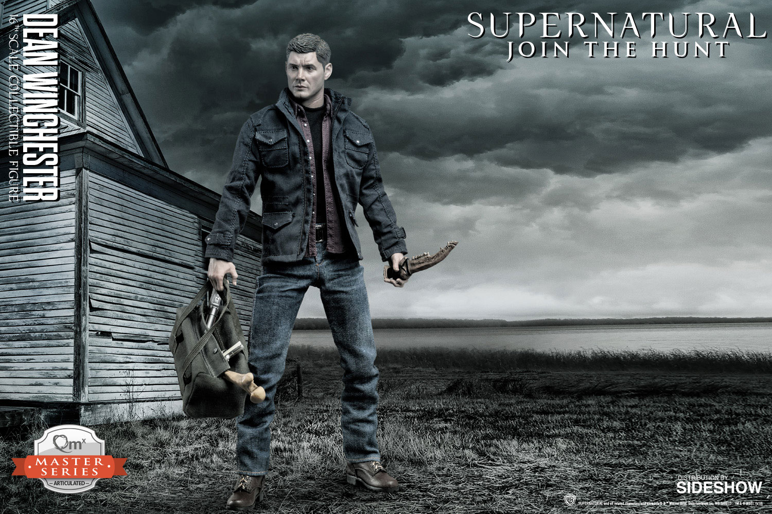 supernatural dean winchester sixth scale figure by quantum m