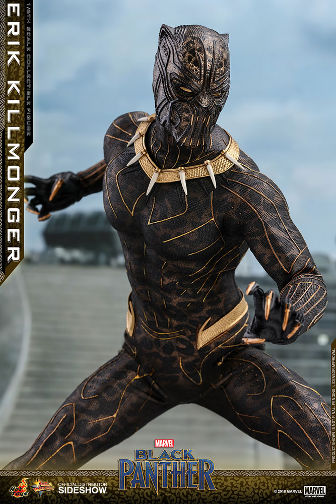 marvel erik killmonger sixth scale figure by hot toys sideshow collectibles. Black Bedroom Furniture Sets. Home Design Ideas