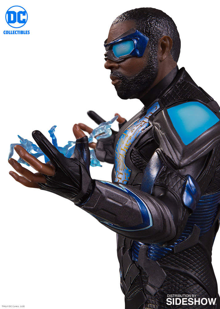 Future Man Season 1 >> DC Comics Black Lightning Statue by DC Collectibles | Sideshow Collectibles