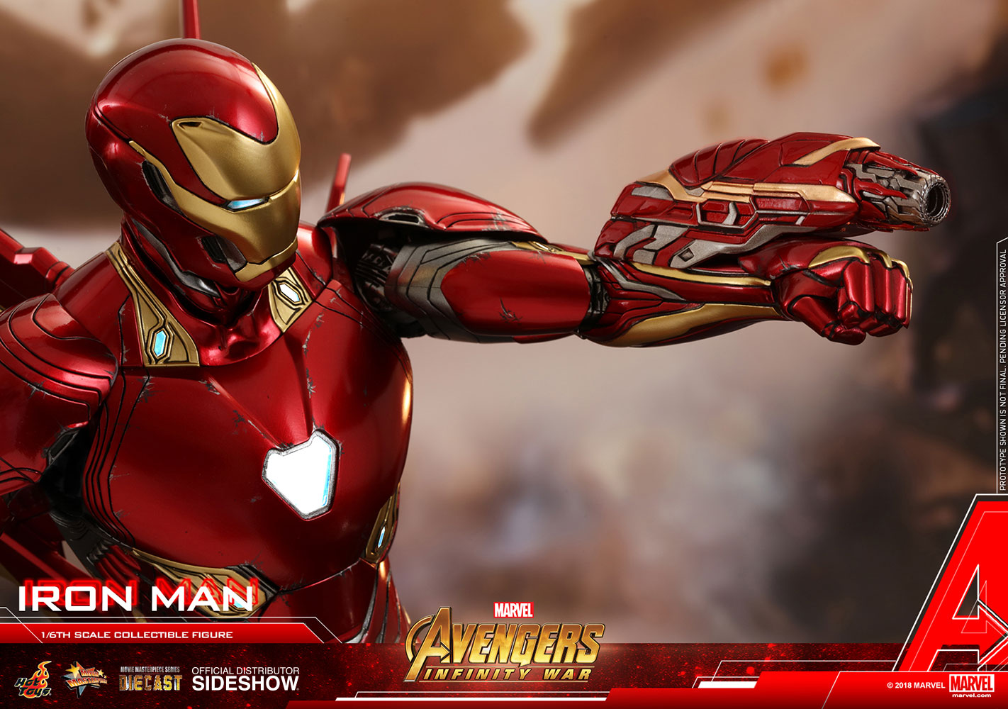 marvel iron man sixth scale figurehot toys | sideshow collectibles