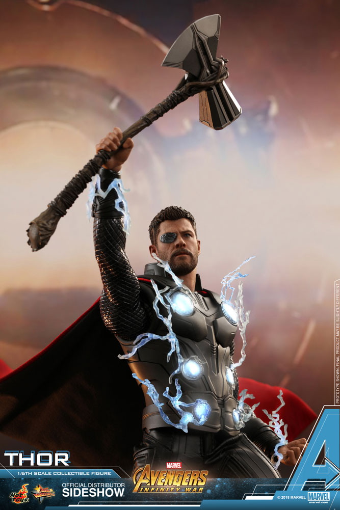 marvel thor sixth scale figure by hot toys sideshow collectibles