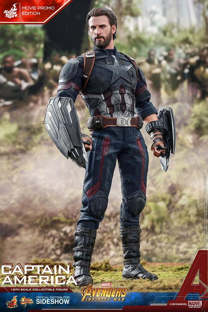 Marvel Captain America Movie Promo Edition Sixth Scale