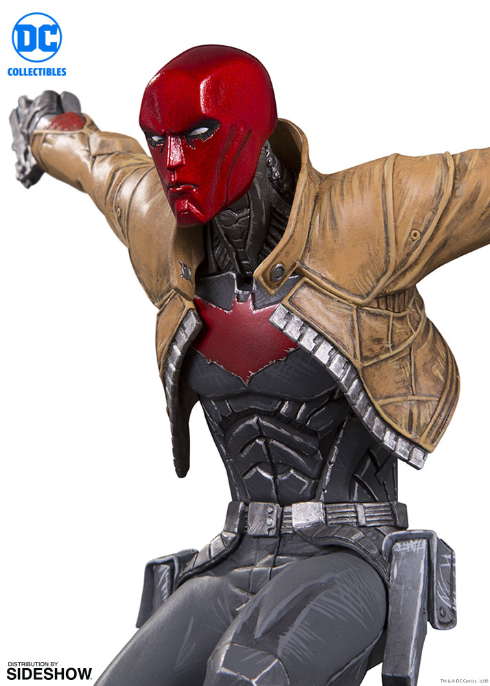 dc comics red hood statue by dc collectibles sideshow collectibles