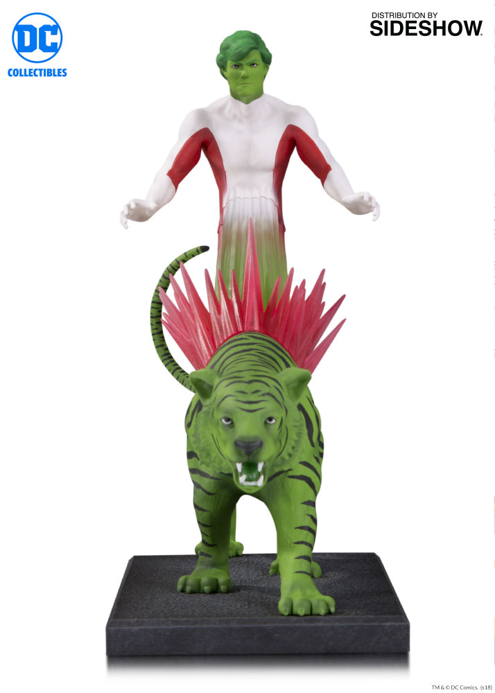 dc comics beast boy statue by dc collectibles sideshow collectibles