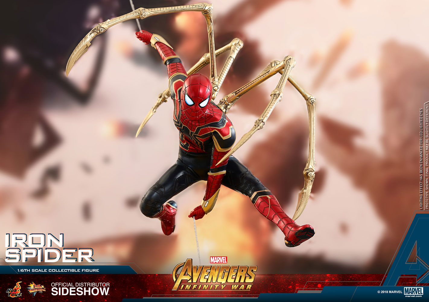Marvel Iron Spider Sixth Scale Figure By Hot Toys Sideshow