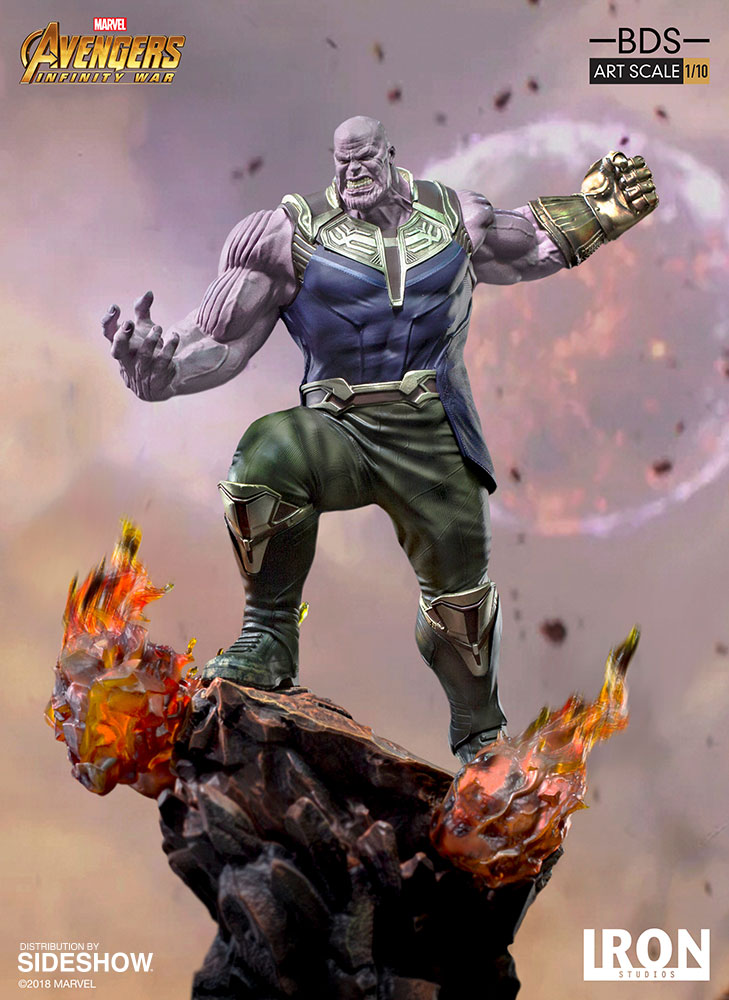 Marvel Thanos Statue by Iron Studios | Sideshow Collectibles
