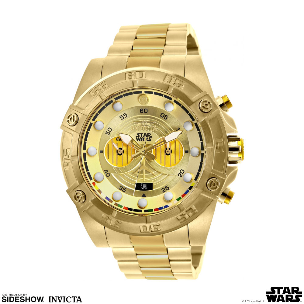 Star Wars C-3PO Watch - Model 26525 Jewelry by Invicta | Sideshow  Collectibles