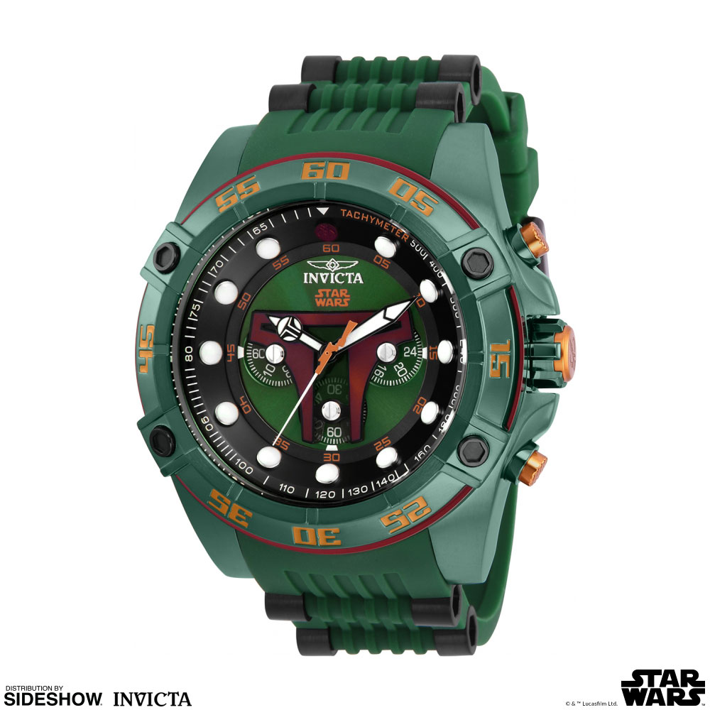 Star Wars Boba Fett Watch - Model 26543 Jewelry by Invicta | Sideshow  Collectibles