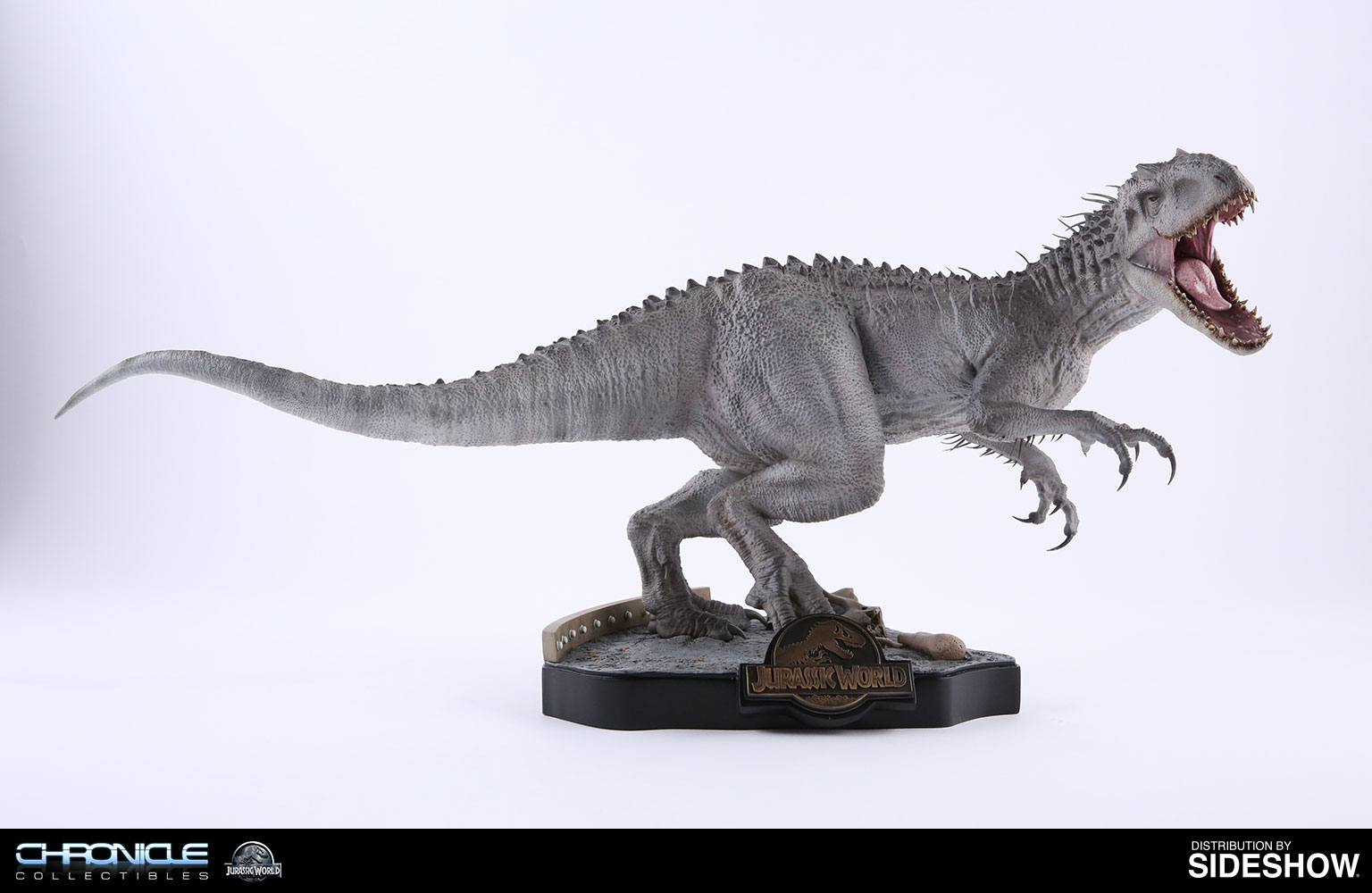 jurassic world final battle indominus rex statue by chronicl sideshow collectibles. Black Bedroom Furniture Sets. Home Design Ideas