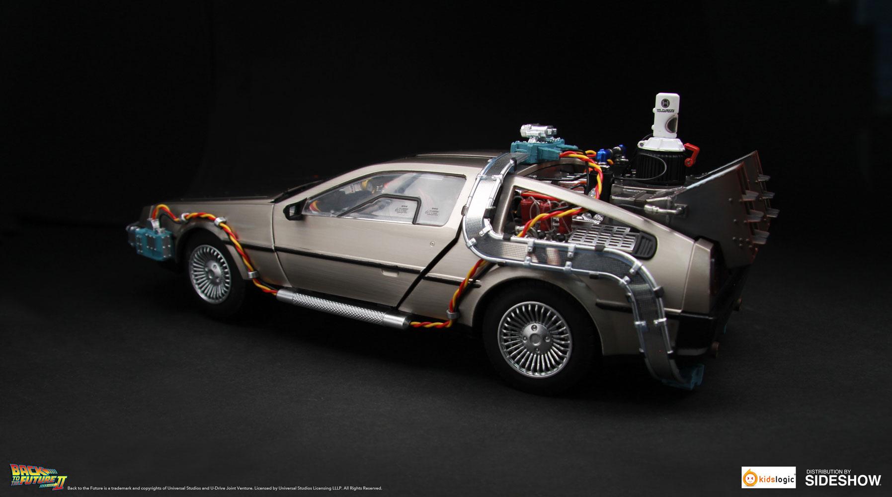 DeLorean Time Machine Collectible Figure