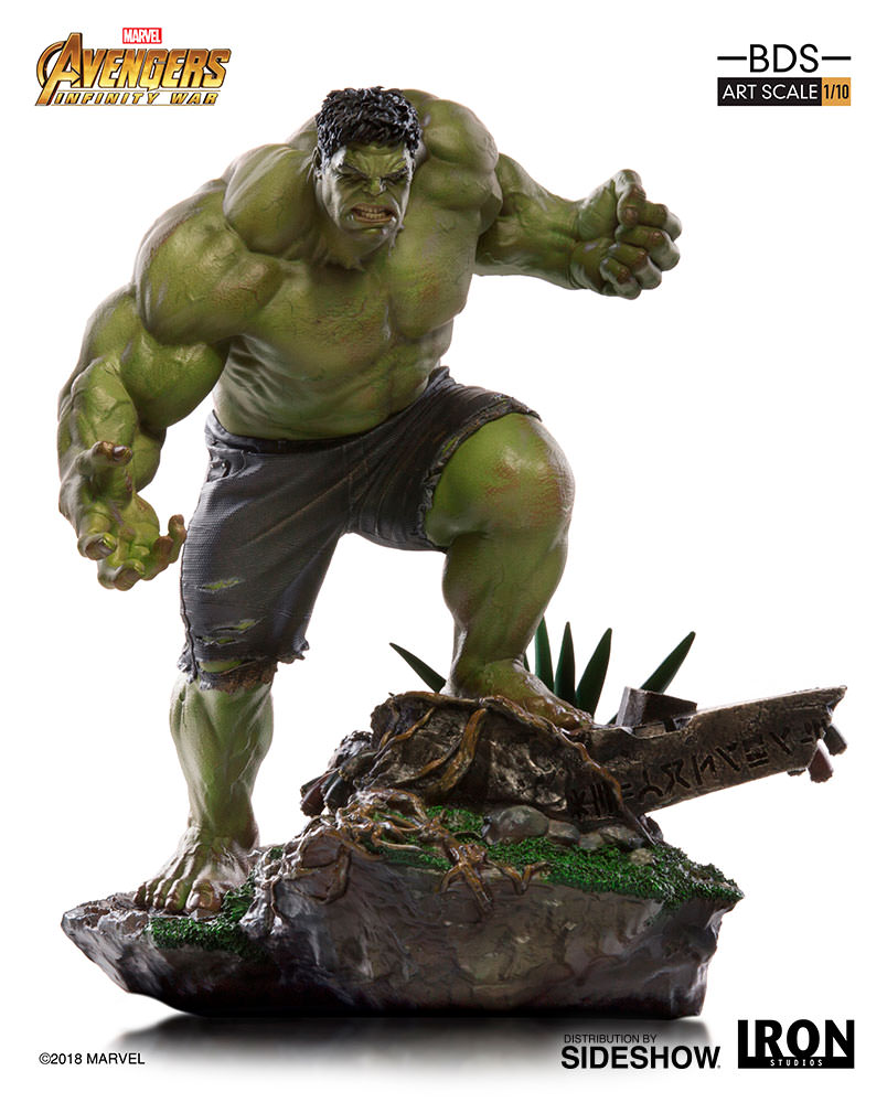 Marvel Hulk Statue By Iron Studios