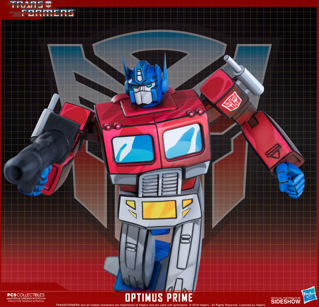 transformers optimus prime statuepop culture shock   sideshow