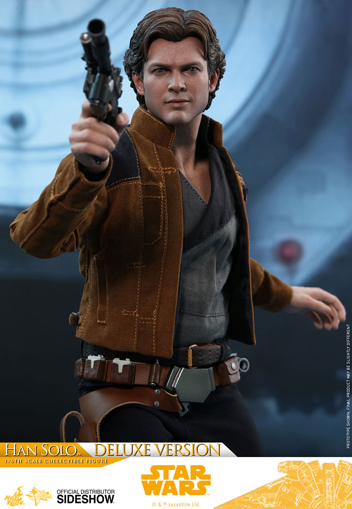 Star Wars Han Solo Deluxe Version Sixth Scale Figure By Hot