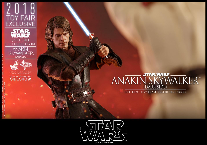 Star Wars Anakin Skywalker Dark Side Sixth Scale Figure by ...