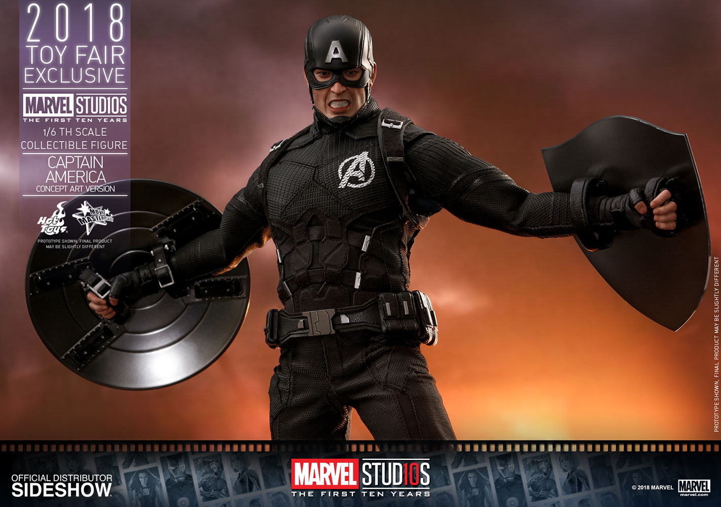 Captain America: The First Ten Years 1/6th Scale Hot Toys
