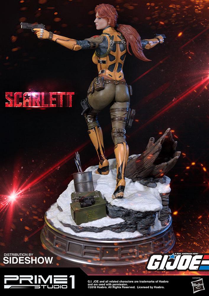 g i joe scarlett statue by prime 1 studio sideshow collectibles