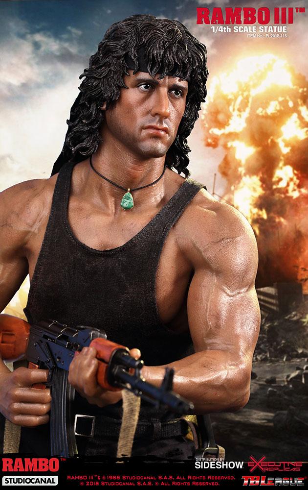 Rambo Rambo III Statue...