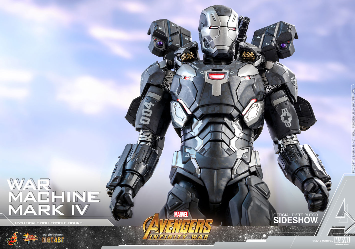 Marvel War Machine Mark IV Special Edition Sixth Scale ...