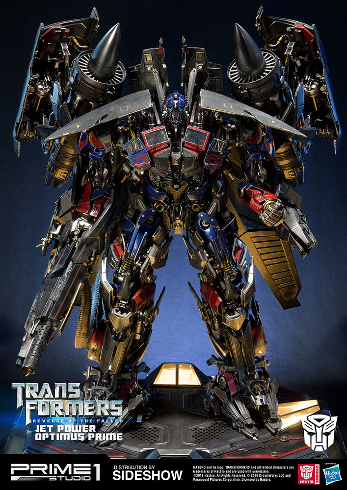Transformers Jetpower Optimus Prime Statue by Prime 1 ...