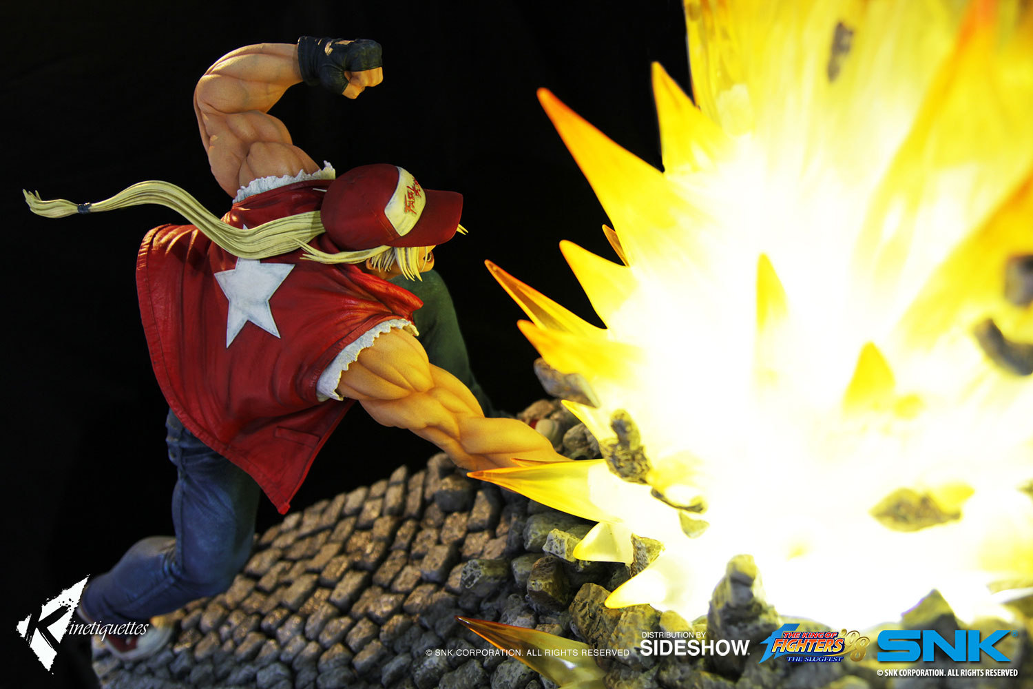 the king of fighters terry bogard diorama by kinetiquettes
