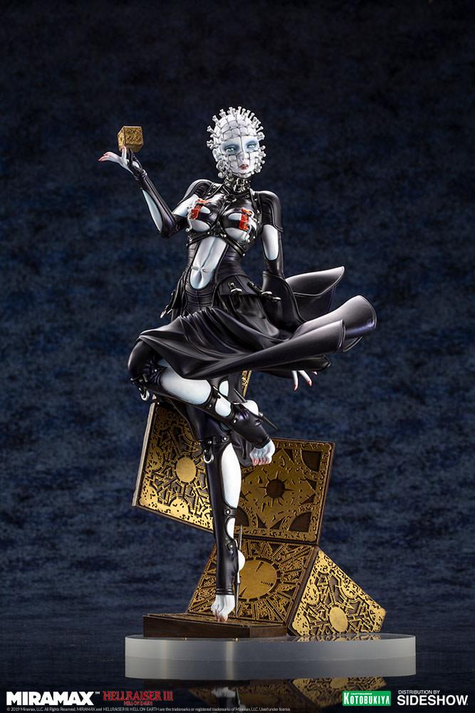 hellraiser pinhead statue by kotobukiya sideshow collectibles