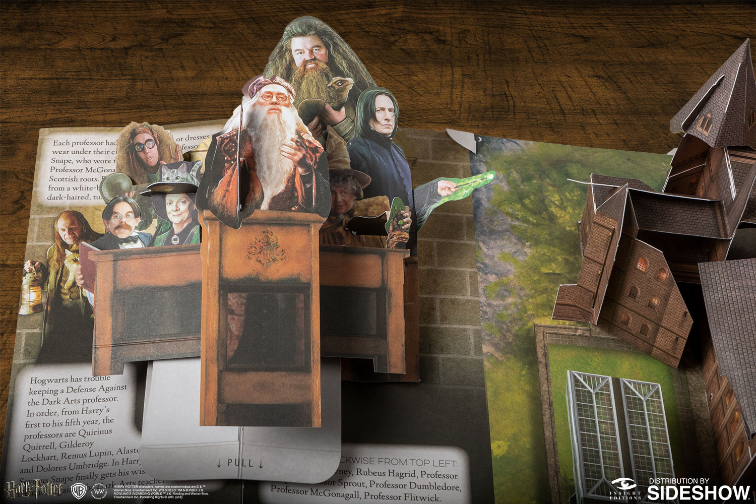 Harry Potter Book Value Guide : Harry potter a pop up guide to hogwarts book