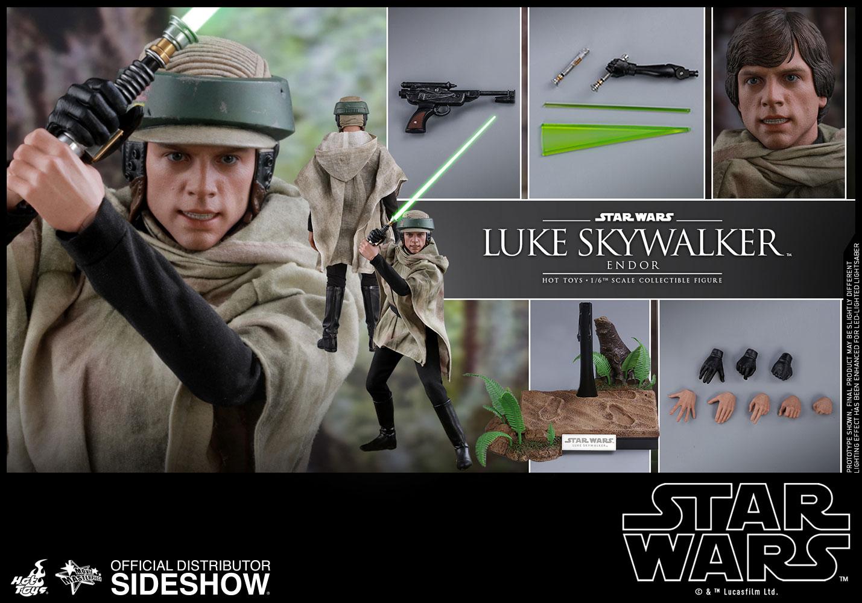 Luke Skywalker Endor 1/6th Scale Hot Toys