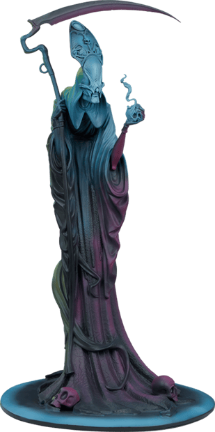 Death: The Curious Shepherd Statue