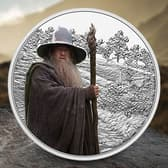 Gandalf the Grey 1oz Silver Coin Collectible