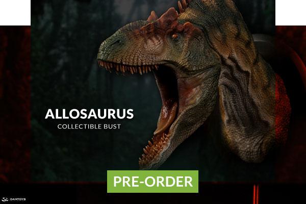 Allosaurus Bust