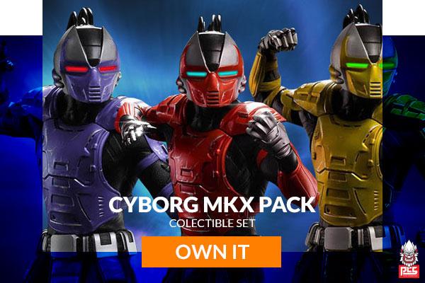 Cyborg MKX Pack (PCS)